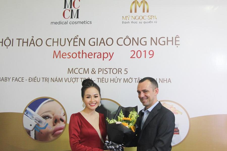Hội thảo chuyển giao công nghệ Mesotherapy tháng 5 - 2019